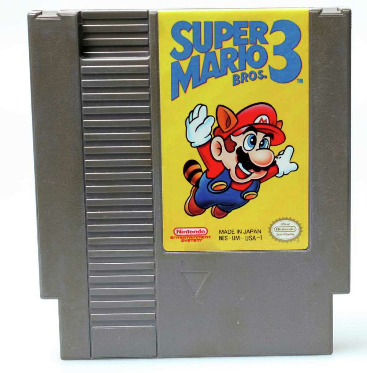 Retro Gaming Super Mario Bros. 3.