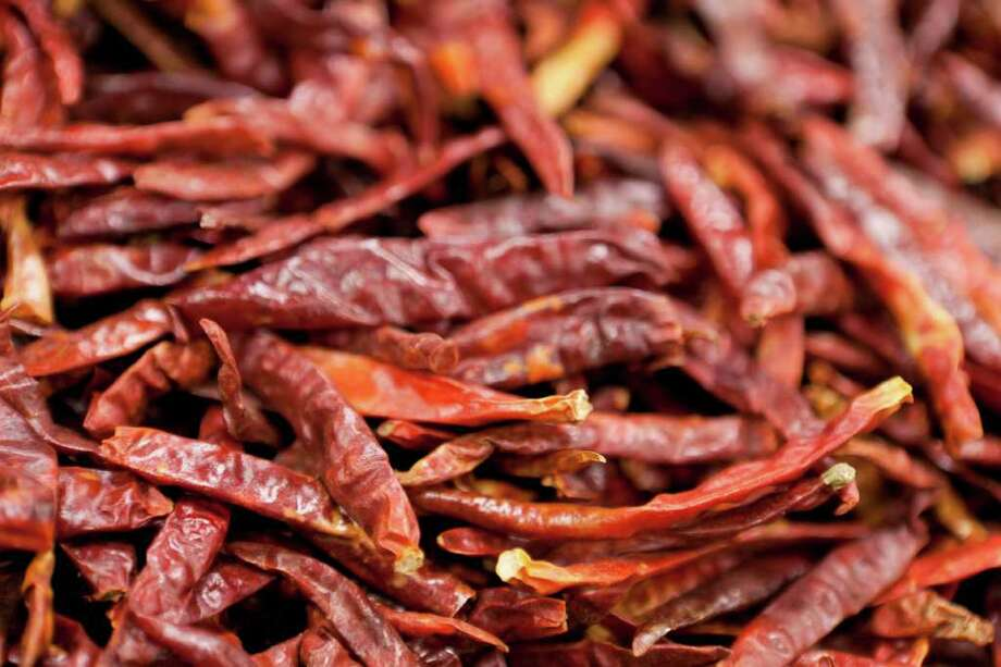 Chilli Arbols on display at Mi Tienda. Nathan Lindstrom/Special to the Chronicle Photo: Nathan Lindstrom, Freelance / ©2011 Nathan Lindstrom