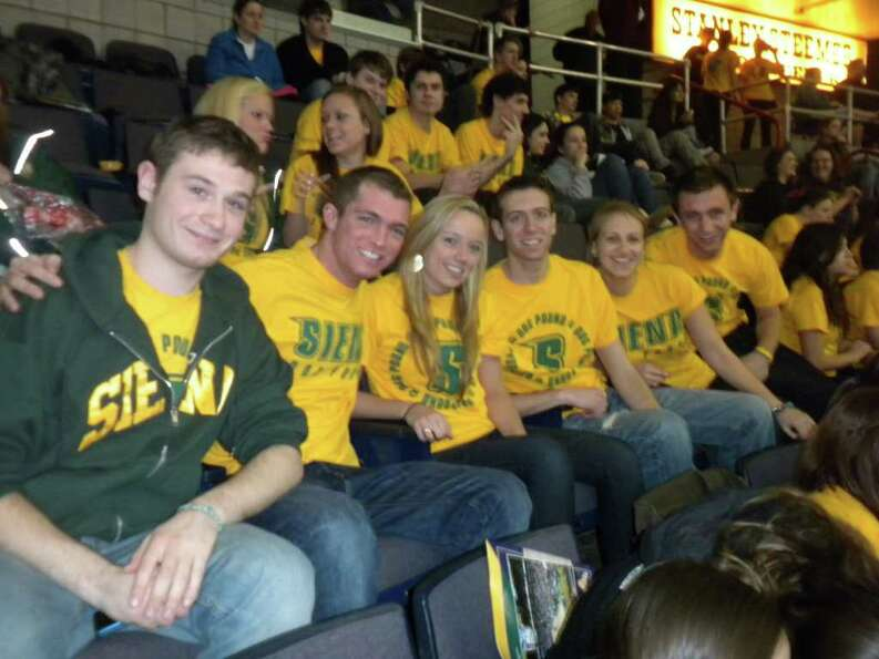 Were you SEEN at the UAlbany vs Siena Basketball Game Monday Night?