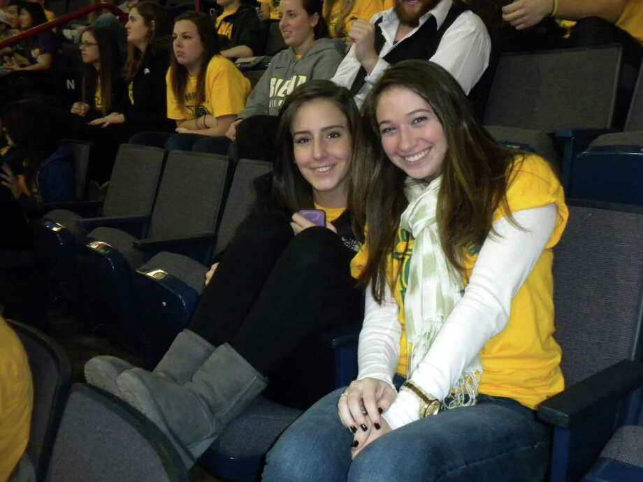 Were you SEEN at the UAlbany vs Siena Basketball Game Monday Night? Photo: Leann Hlebica