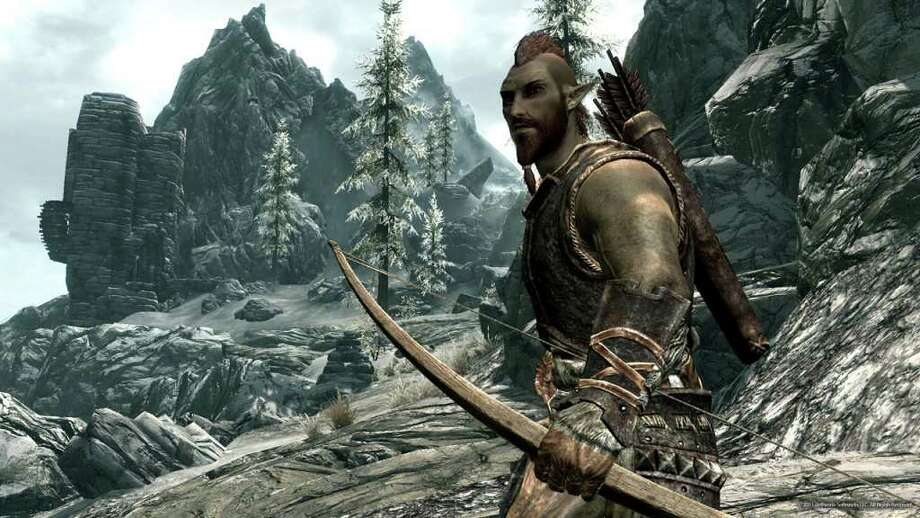 SKYRIM ELDER SCROLLS: The open-ended nature of Bethesda's  video game means longer game play and more possibilities.