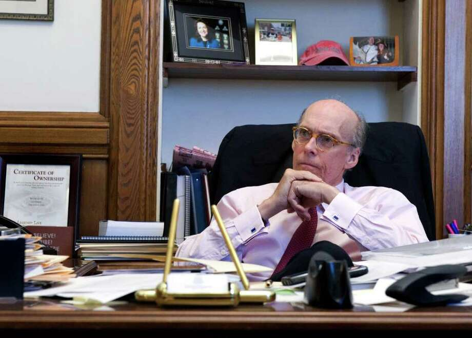 Gov. Dan Malloy's Chief of Staff Tim Bannon in his office at the state Capitol in Hartford, Conn., October 25, 2011. Photo: Keelin Daly / Stamford Advocate
