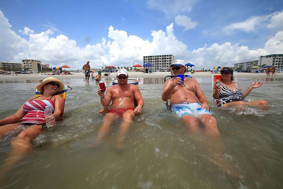 In February, searches move to the East Coast equivalent, Florida. Photo: David Massey, AP