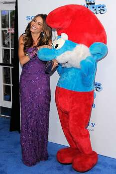 "NEW YORK, NY - JULY 24:  Sofia Vergara attends the premiere of ""The Smurfs"" at the Ziegfeld Theater on July 24, 2011 in New York City. Photo: Jemal Countess, Getty Images"