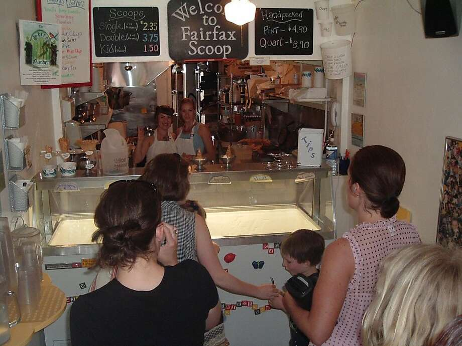 Fairfax Scoop, Fairfax. This shop might be tiny but its flavors are big. (63 Broadway Blvd.) Photo: HANDOUT