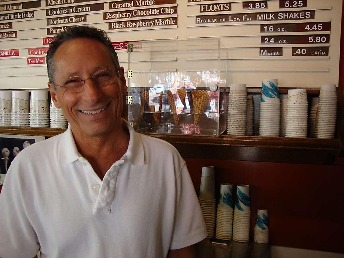 Dick Campana, owner of Swensen's Ice Cream