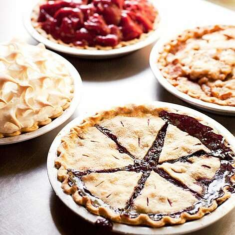 Park Cafe in St. Mary, MT serves up beautiful and delectable pies to give you strength on your journey down the road. Photo: Andrea Gómez Romero, Sunset