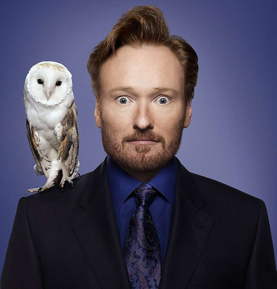 Press photos of Conan O'Brien from TBS/Turner. Photographer: 	Art Streiber Photo: Art Streiber