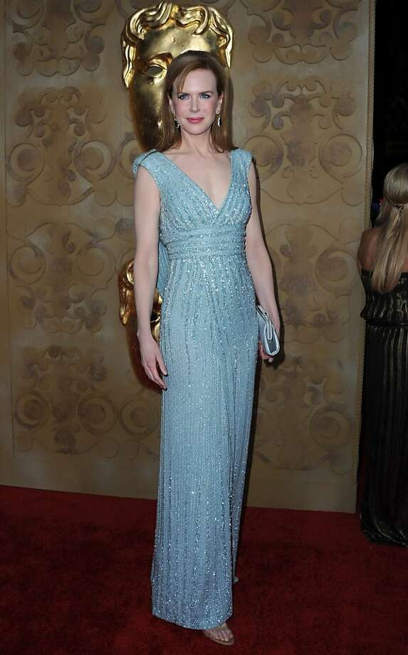 "Australian actress Nicole Kidman arrives at the BAFTA Brits To Watch celebrity event in Los Angeles, California, on July 9, 2011. Britains Prince William and his new wife Catherine used their star power to promote British acting talent, at a glittering dinner with Hollywood A-listers on the last night of a 12-day north American tour. William, president of the British Academy of Film and Television Arts (BAFTA), urged guests including Tom Hanks and Nicole Kidman to give a chance to 42 up-and-coming ""Britsto watch"" invited to mingle with the Hollywood stars. Photo: Valerie Macon, AFP/Getty Images"