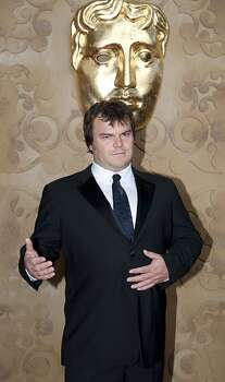 Jack Black at the BAFTA awards July 9, 2011. Photo: Getty Images