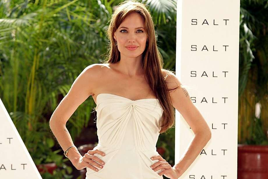 Cancun, Mexico - June 30, 2010: Angelina Jolie at Columbia Pictures' SALT Photo Call held at Summer of Sony. Photo: SPE, Inc./ Santiago Gonzalez San, Cancun CVB