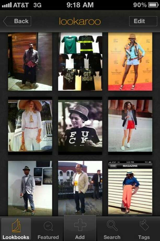 Organize and tag outfit shots, street style snaps and other fashion images in one place, create personal lookbooks and share via social media with this iPhone app launched May 2011 in San Francisco. Photo: Lookaroo
