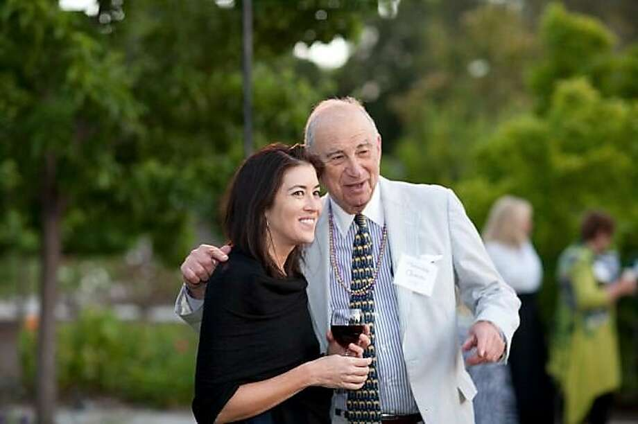 Lisa Boohar M.D. and Hon. Quentin Kopp at A Sunset Safari, a benefit for Sequoia Hospital on June 24 in Atherton. Photo: Drew Altizer, Drew Altizer Photography