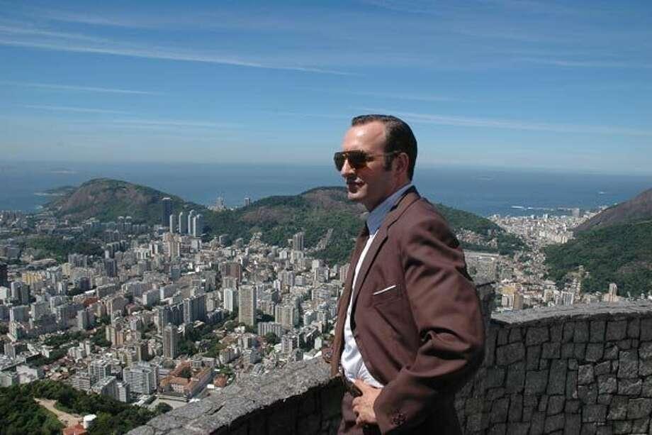 "Jean Dujardin in ""Lost in Rio."" Photo: Music Box Films"