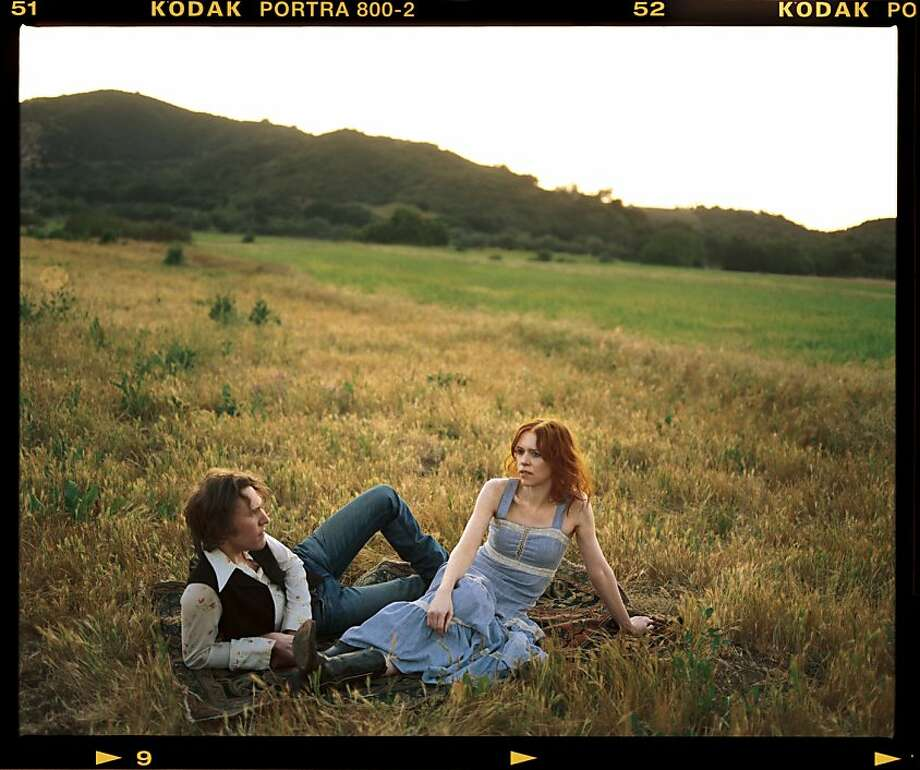 Gillian Welch performs at the Warfield on Thursday, July 7. Photo: Mark Seliger