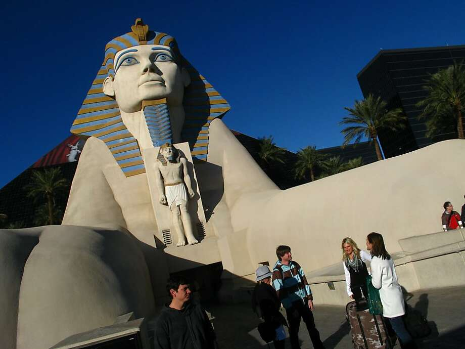 The Luxor Resort Hotel and Casino in Las Vegas Photo: Spud Hilton, The Chronicle