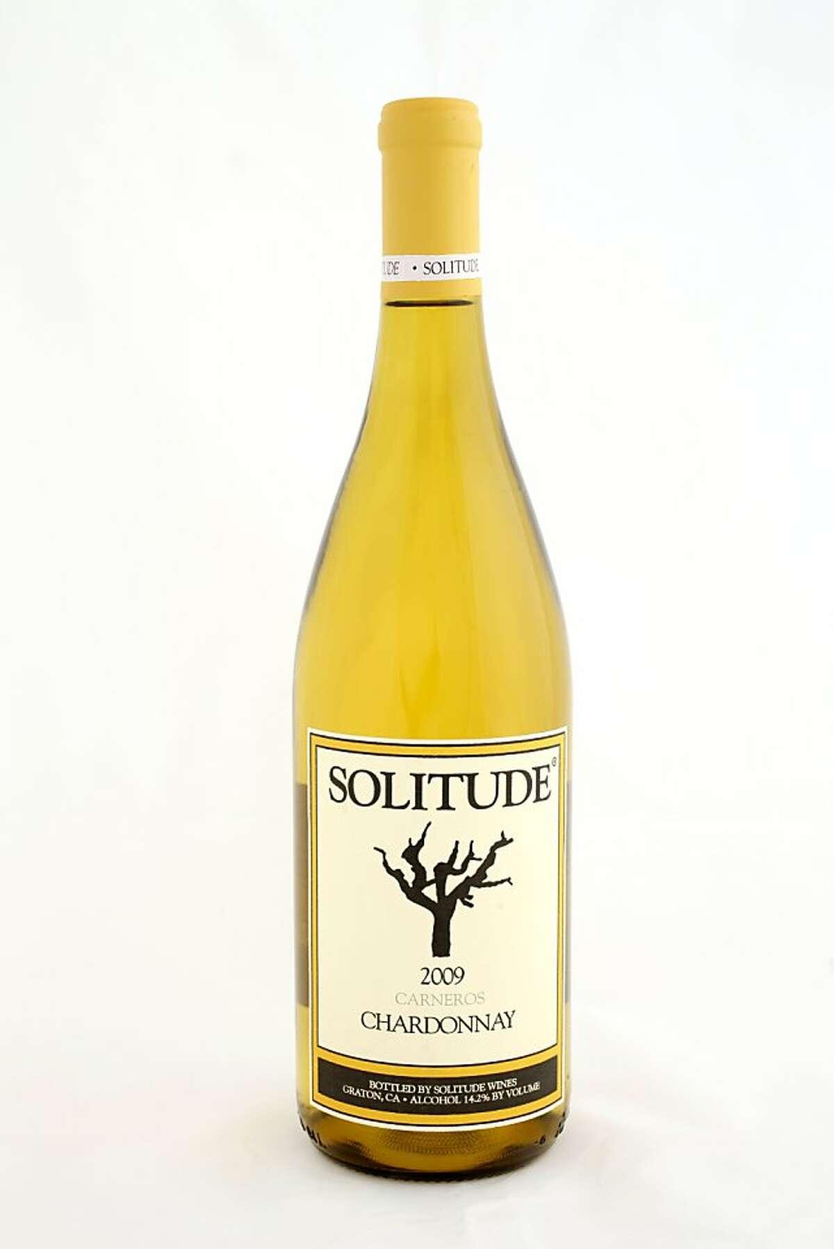2009 Solitude Wine Carneros Chardonnay