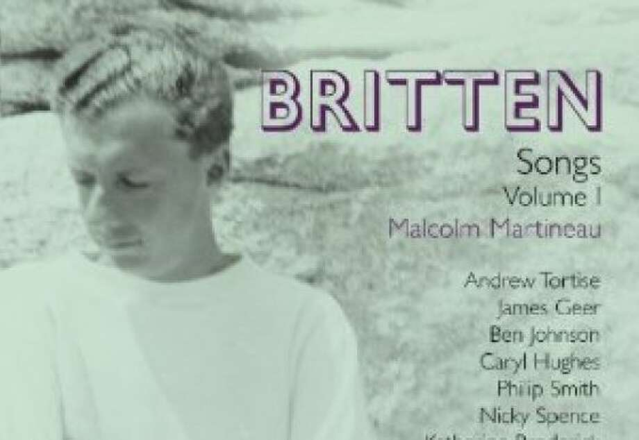 CD cover for Britten Songs Vol. 1, Malcolm Martineau Photo: Onyx