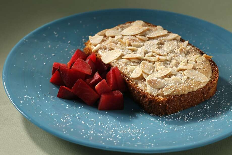 Bostock (Almond Toast). Food styled by Rochelle Vurek. Photo: Craig Lee, Special To The Chronicle