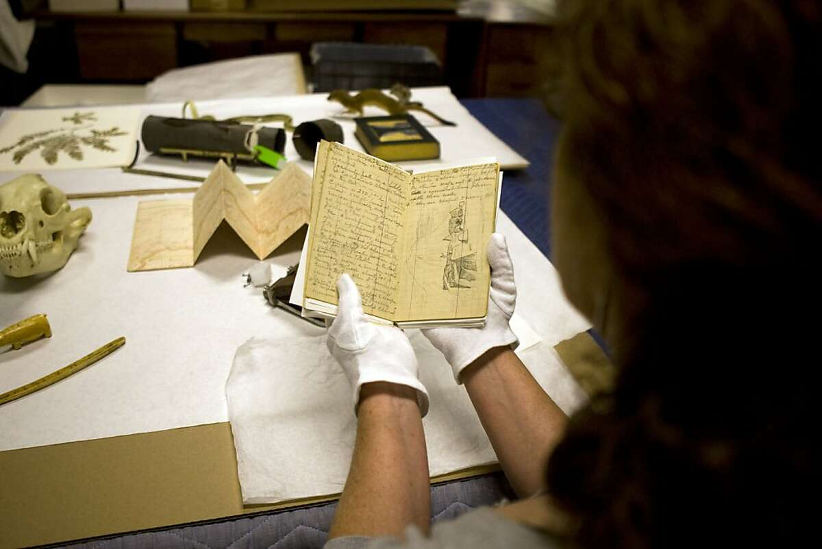 Dorris Welch is curating a major museum show on John Muir in August. She had been a Muir fan since age 10 and talked the museum into the show. Most of the artifacts come from University of Pacific, including Muir's handwritten journals which are now being cataloged at an undisclosed warehouse before being transfered to the museum.