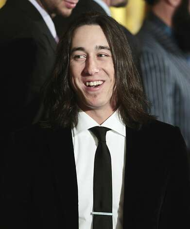San Francisco Giants baseball pitcher Tim Lincecum is seen in the East Room of the White House in Washington, Monday, July 25, 2011, during a ceremony honoring the 2010 World Series baseball champions. Photo: Pablo Martinez Monsivais, AP
