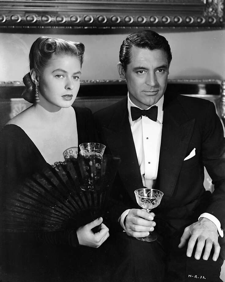 "Ingrid Bergman and Cary Grant in ""Notorious"" Photo: RKO Radio Pictures 1946"