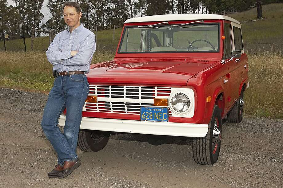 Photos of Paul Bignardi and his 1975 Ford Bronco photographed near Edgewood Road in San Mateo County, CA on May 14, 2011 Photo: Stephen Finerty