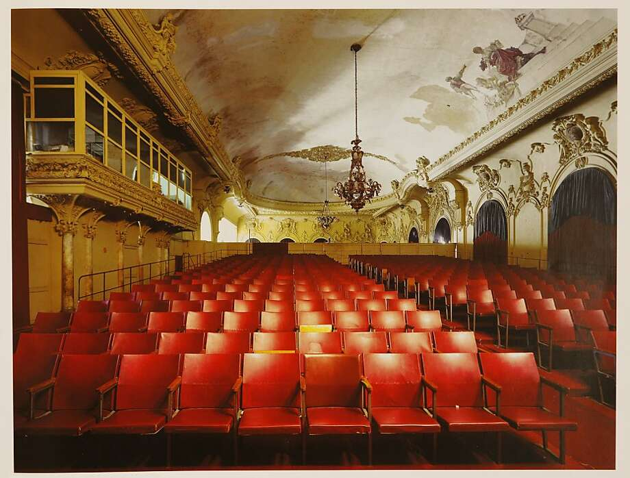 "A Robert Polidori print of, ""Screening Room, Gran Teatro de La Habana, Habnan Vieja,"" seen on Monday, July 25, 2011 in San Francisco, Calif., is one of Sydney Goldstein's objects of affection. Photo: Russell Yip, The Chronicle"