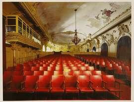 "A Robert Polidori print of, ""Screening Room, Gran Teatro de La Habana, Habnan Vieja,"" seen on Monday, July 25, 2011 in San Francisco, Calif., is one of Sydney Goldstein's objects of affection."