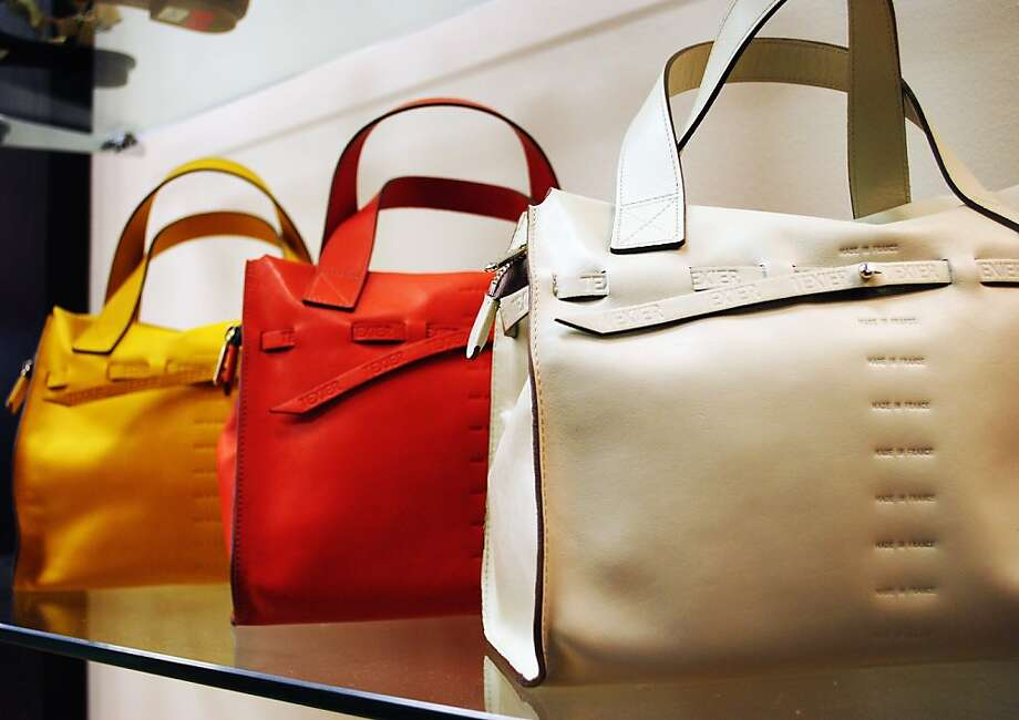 Red Box is the U.S. distributor for Texier bags from Paris. Photo: Mandy Esfandiari
