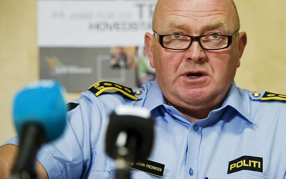 Oslo district police's Chief of staff Johan Fredriksen speaks during a press conference on last week's massacre on July 28, 2011 at the police headquarters in Oslo.  Amid growing criticism that it took officers too long to halt a killing spree by Anders Behring Breivik that left 76 dead, Prime Minister Jens Stoltenberg vowed that a commission of inquiry would get to the truth. Photo: Jonathan Nackstrand, AFP/Getty Images