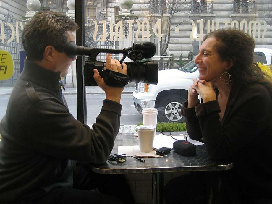 """Between Two Worlds"": film directors Alan Snitow and Deborah Kaufman. Photo: Snitow-Kaufman Productions"