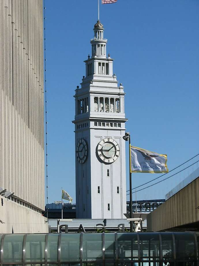 Next to the Golden Gate Bridge and the Transamerica Pyramid, the Ferry Building might be San Francisco's most recognizable -- and revered -- architectural icon. Photo: John King