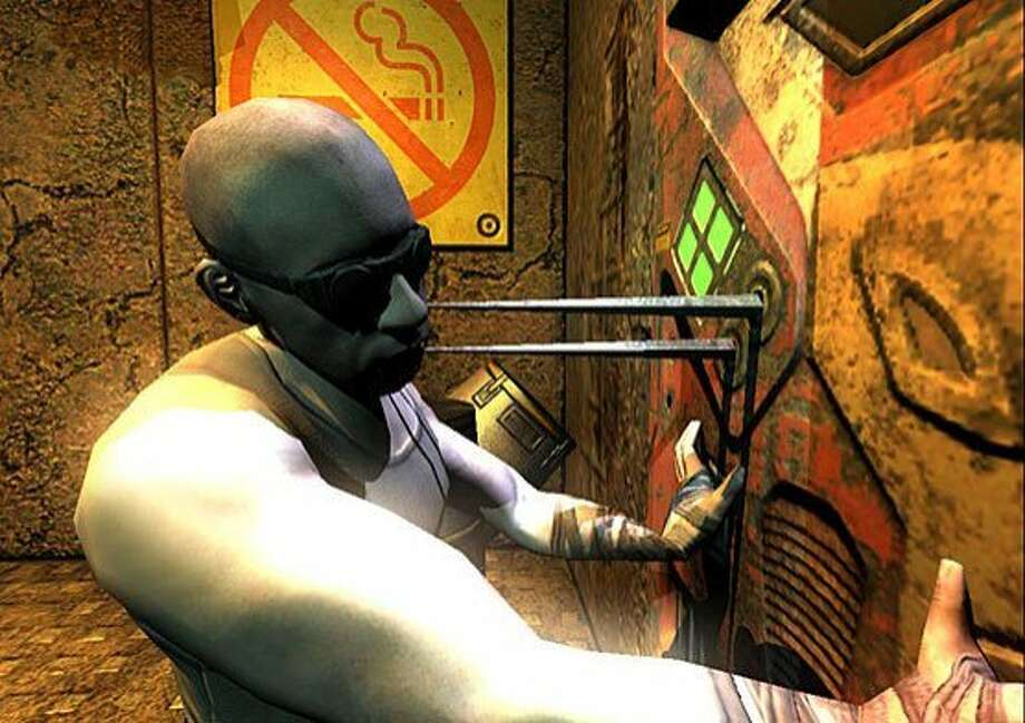 Screenshot of the video game The Chronicles of Riddick: Escape from Butcher Bay. Photo: Courtesy Photo