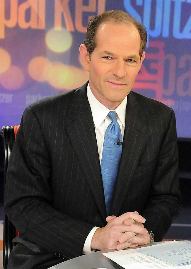 "FILE -- CNN on Wednesday cancelled Eliot Spitzer's 8 p.m. political talk show, ""In The Arena,"" after only nine months, and said it would shift Anderson Cooper's 10 p.m. nightly newscast into the time slot. Spitzer in a 2010 photo provided by CNN. (Lorenzo Bevilaqua/CNN via the New York Times) - NO SALES - Photo: Lorenzo Bevilaqua, CNN"