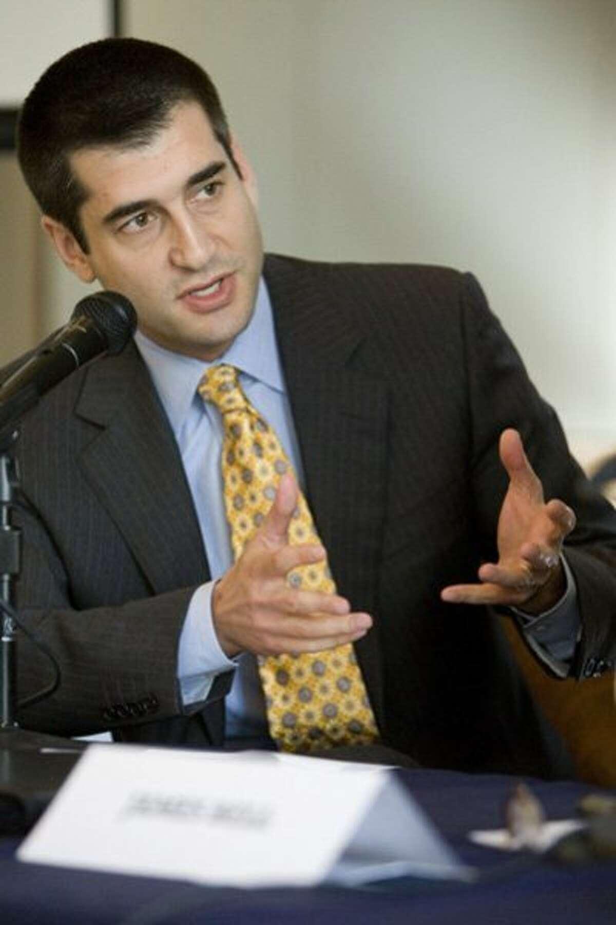 District Attorney candidate David Onek.