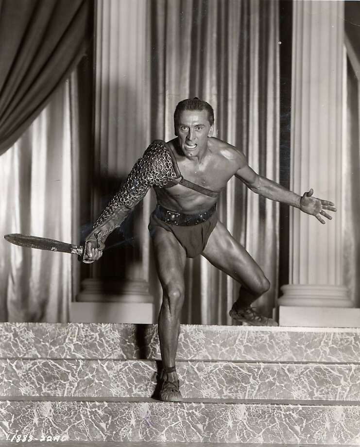 "Kirk Douglas in ""Spartacus"" Photo: Handout, Universal Pictures"