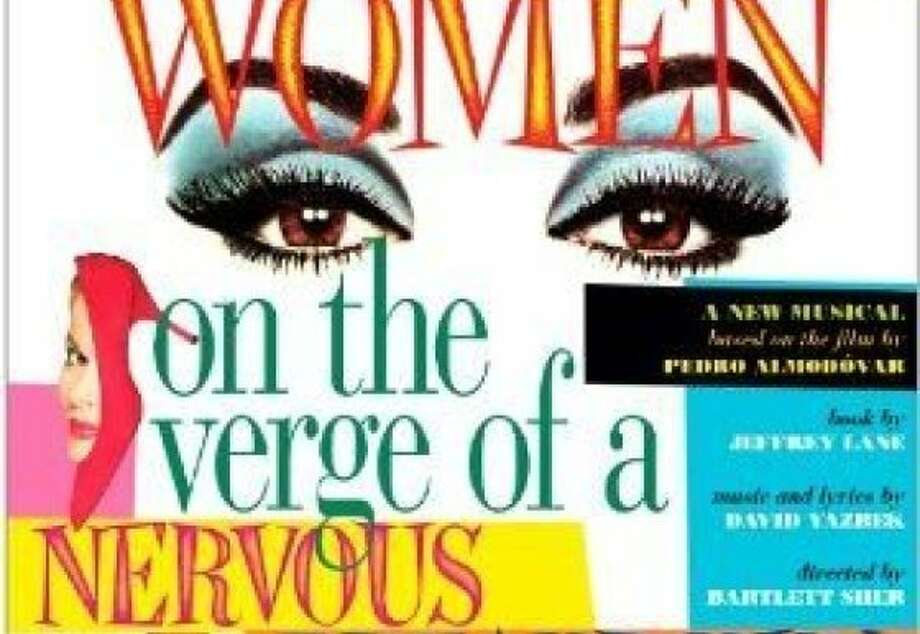 "CD cover for the original Broadway cast recording of ""Women on the Verge of a Nervous Breakdown."" Photo: Ghostlight Records"