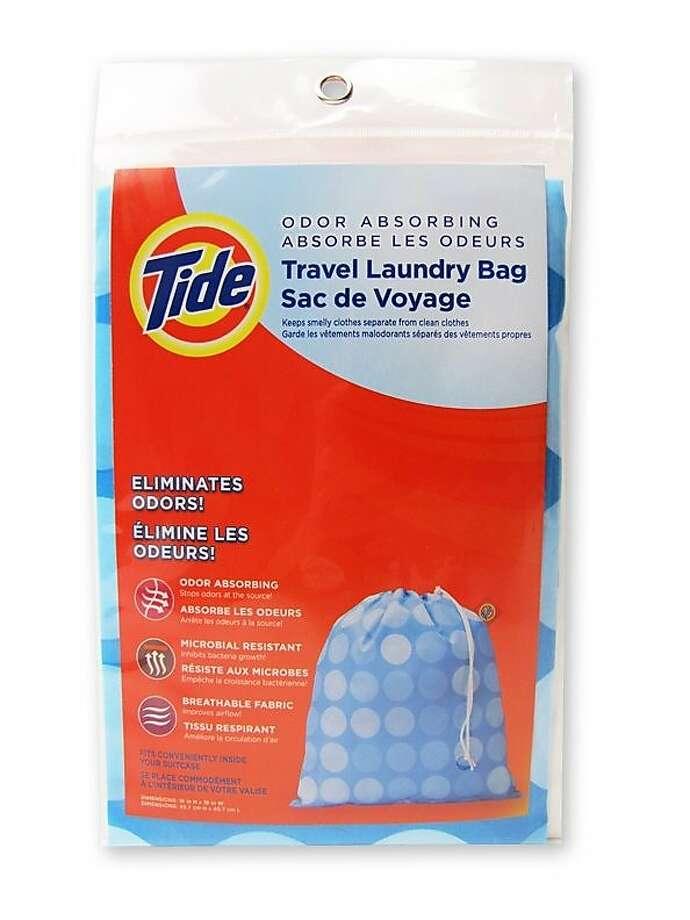 Tide Travel Laundry Bag eliminates odors. Photo: Tide Travel Laundry Bag