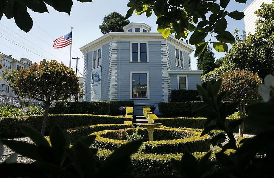 The Octagon House, at 2645 Gough Street , in San Francisco, Ca. on Friday July 22, 2011. The Octagon  House is now celebrating it's 150 year anniversary. Photo: Michael Macor, The Chronicle