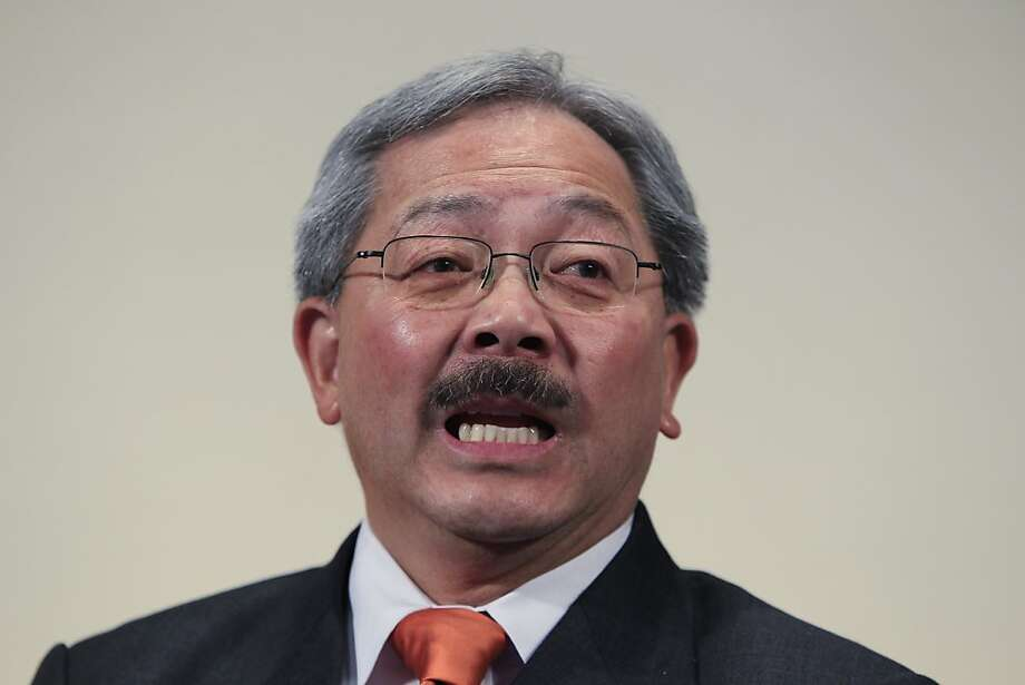 San Francisco Mayor Ed Lee Photo: Paul Sakuma, AP