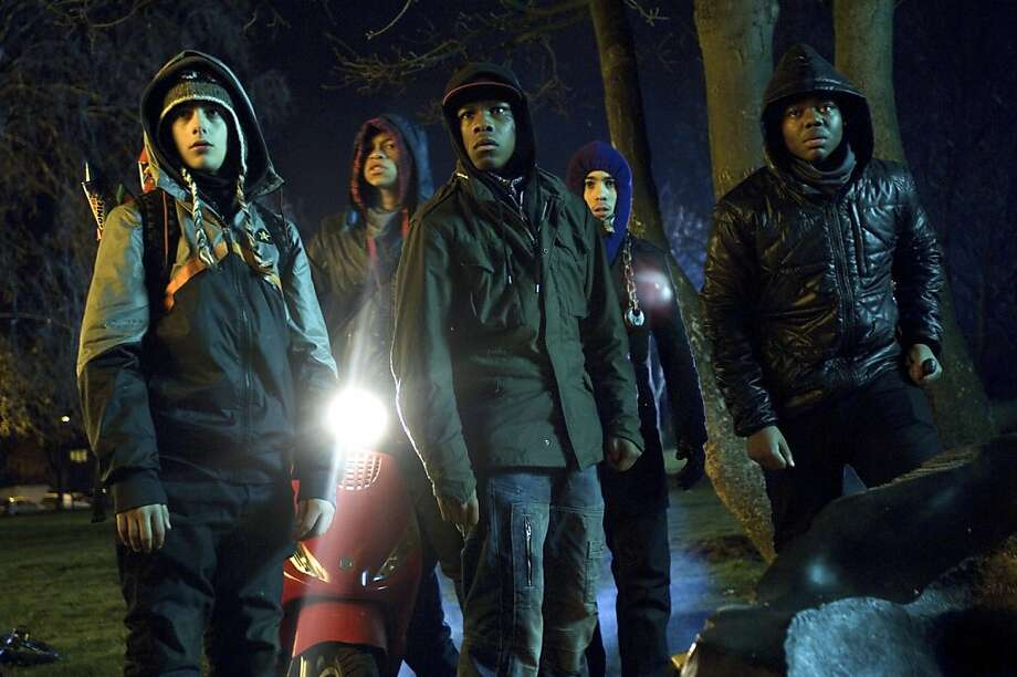 "A scene from ""Attack the Block."" Photo: Sony"