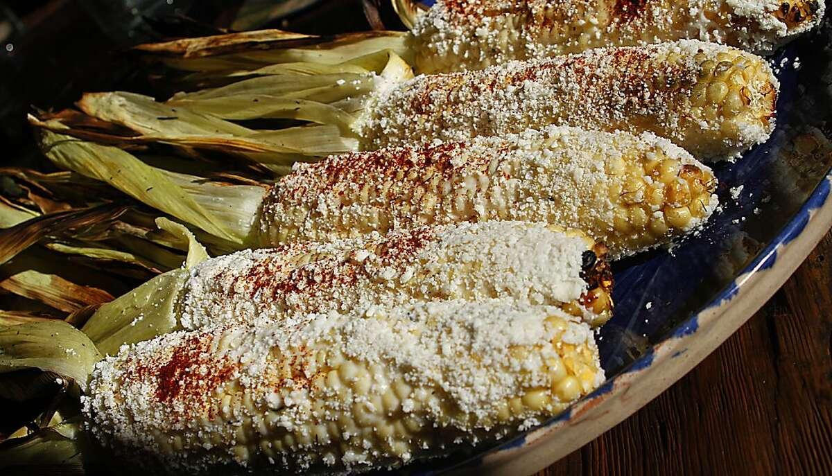 Elote Asado (Grilled Corn)