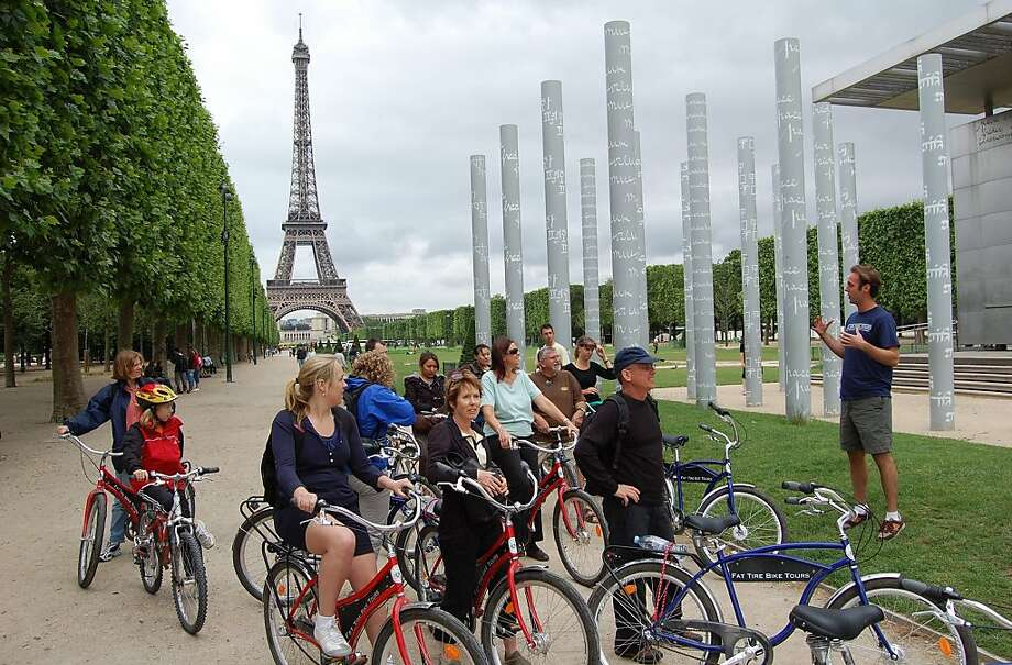 Seeing Paris on a bike tour gets you closer to the ground -- and closer to the people. Photo: Rick Steves