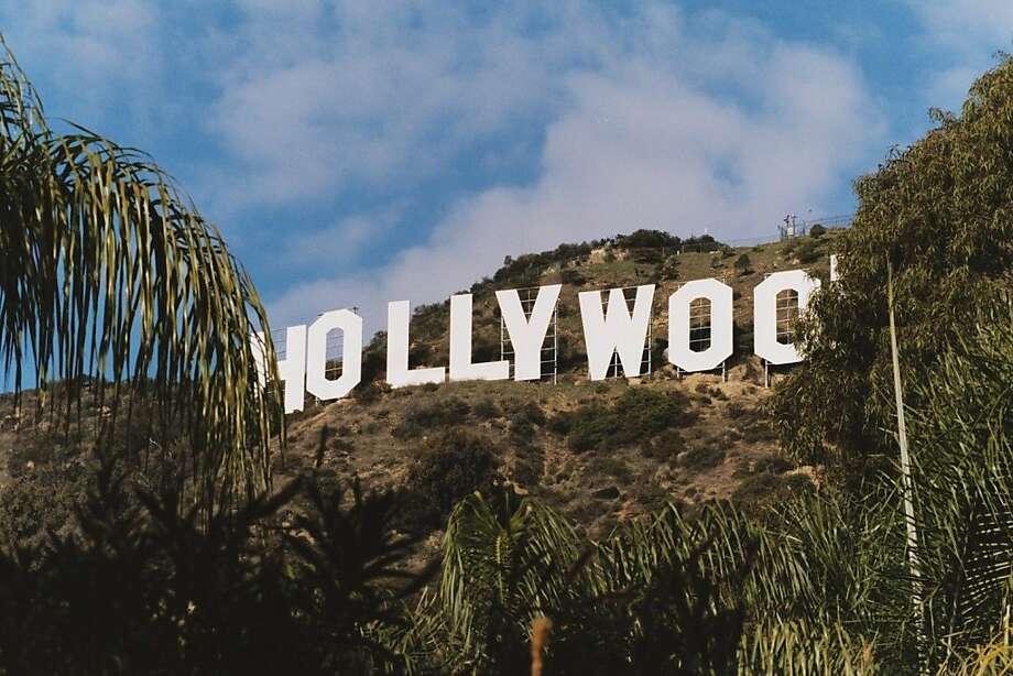 TRAVEL HOLLYWOOD -- Hollywood sign. (Ya think?) Credit: Spud Hilton / The Chronicle 2002 Photo: Spud Hilton, The Chronicle