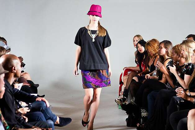 Models show local designers' looks at Pret-a-Porter. Photo: Shaun Tiansing