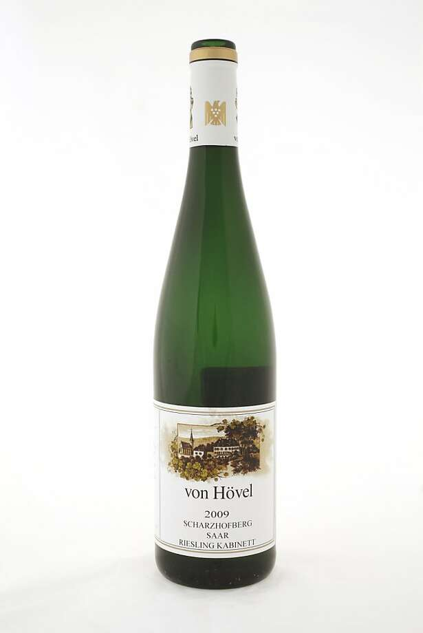 2009 Von Hovel Scharzhofberg Saar Riesling Kabinett Photo: Craig Lee, Special To The Chronicle