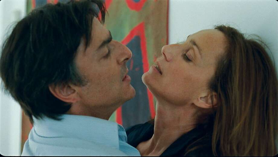 "Kristin Scott Thomas  and Yvan Attal in ""Leaving."" Photo: IFC Films"