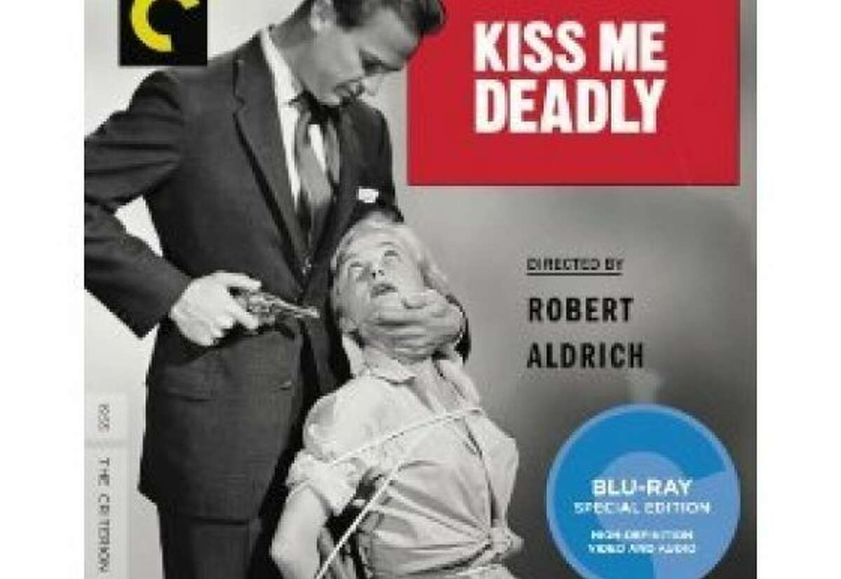 dvd cover KISS ME DEADLY
