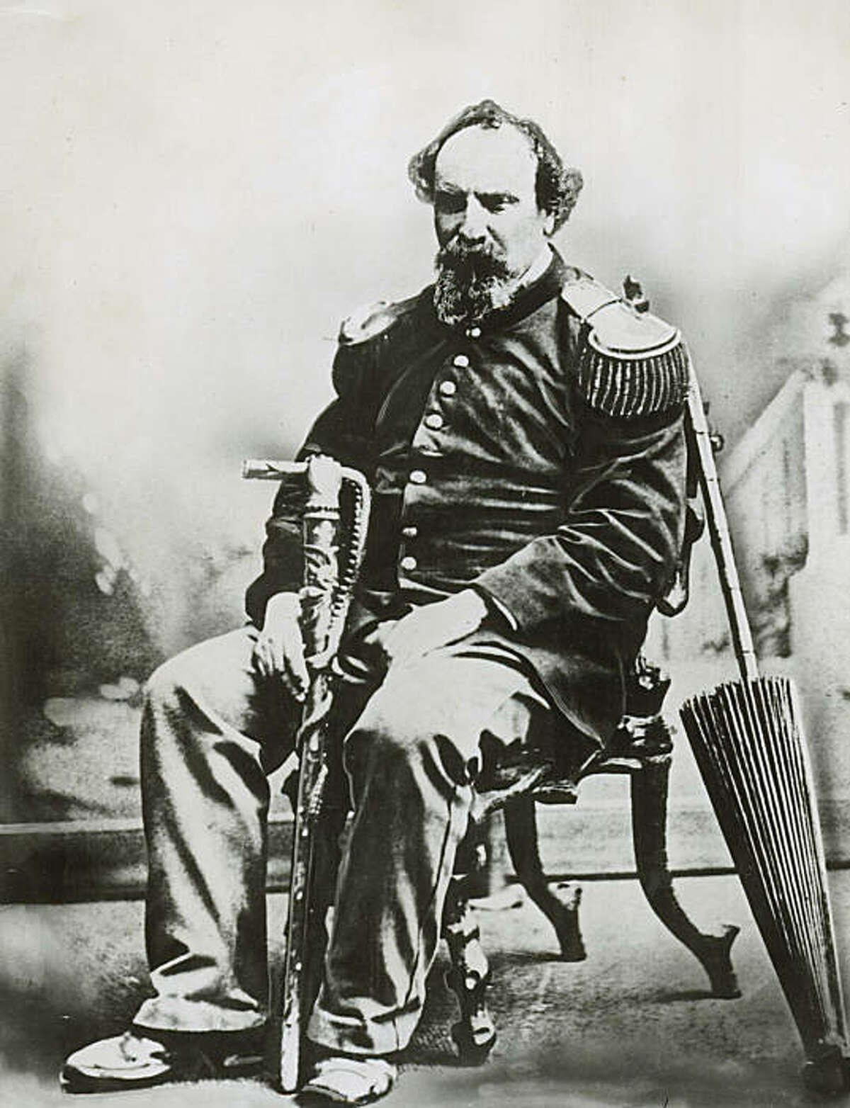 norton_1.JPG June 29, 1959- Emperor Norton- Emperor of the United States and Protector of Mexico. /staff photographer